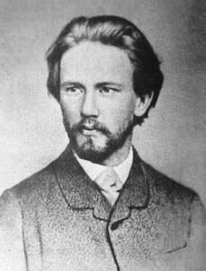 YOUNG PETER ILYICH CHAIKOVSKI